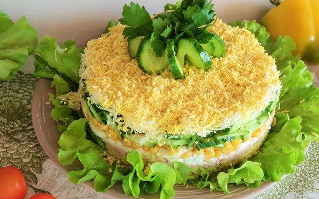 Слоеные салаты - рецепты и советы