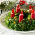 Изумительные новогодние салаты и закуски. Рецепты и идеи оформления