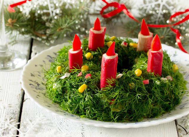 Изумительные салаты и закуски к Новому году и Рождеству. Рецепты и идеи оформления