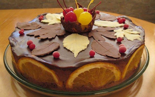 Шоколадные листья, перья и другие украшения из шоколада для тортов