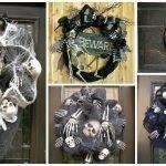 «Потусторонние» венки для интерьера на Хэллоуин и не только!