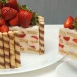 Торты и пирожные без выпечки — коллекция рецептов