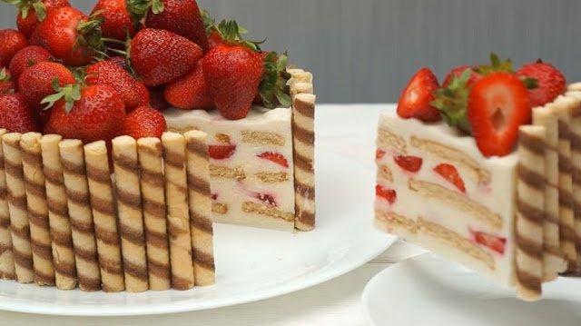 Торты, пирожные и другие сладости без выпечки - коллекция рецептов
