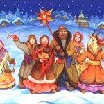 Частушки и колядки на Рождество