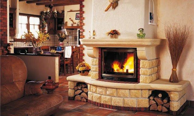 Если у вас есть камин: интересные идеи для осеннего декора вашего интерьера