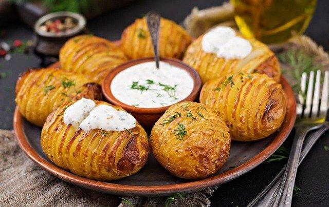 Фаршированный картофель и другие картофельные вкусности - рецепты и идеи
