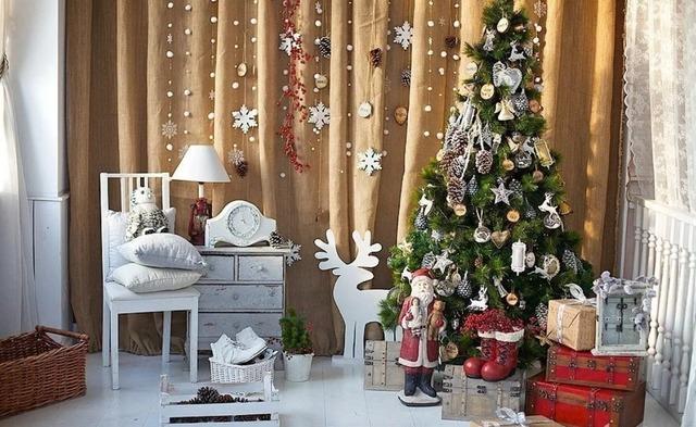 Праздничный декор своими руками к Новому году - МК и идеи