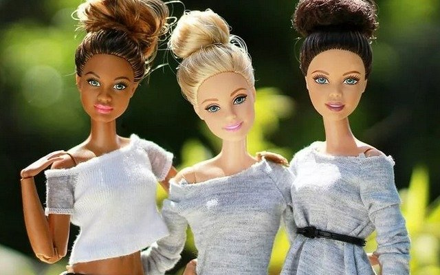 Одежда для Барби и других кукол своими руками - МК и идеи