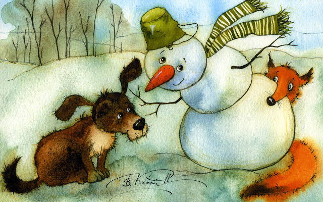 Зимние загадки для детей: о зиме и зимних праздниках (часть 1)