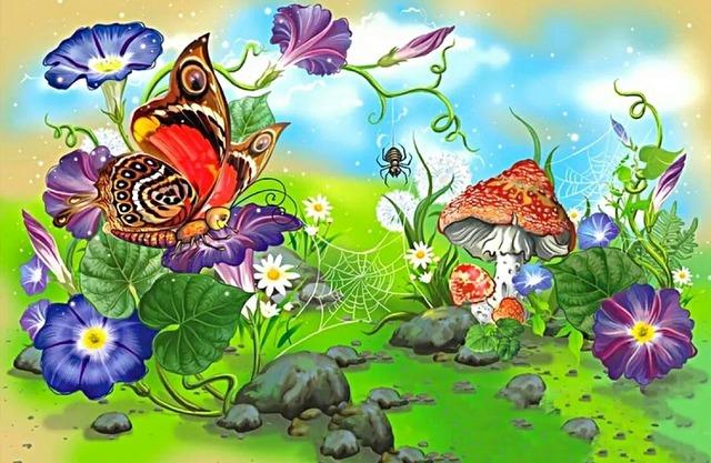 Отчего зацвел цветок? — цветочные стихи для детей