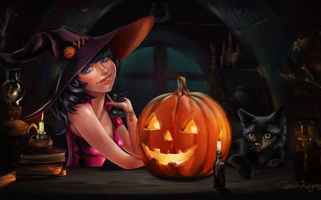 Стихи на Хеллоуин для детей и взрослых