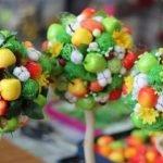 Мастерим новогоднее деревце из мандаринов: идеи и мастер-классы