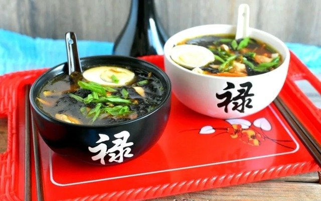 Японские супы: коллекция рецептов