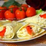 Закуски  и салаты «Каллы» — варианты рецептов и идеи оформления