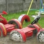 Что можно сделать из старых автомобильных покрышек