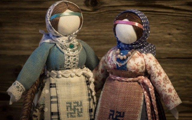 Славянская обережная кукла Берегиня рода (старообрядческая)
