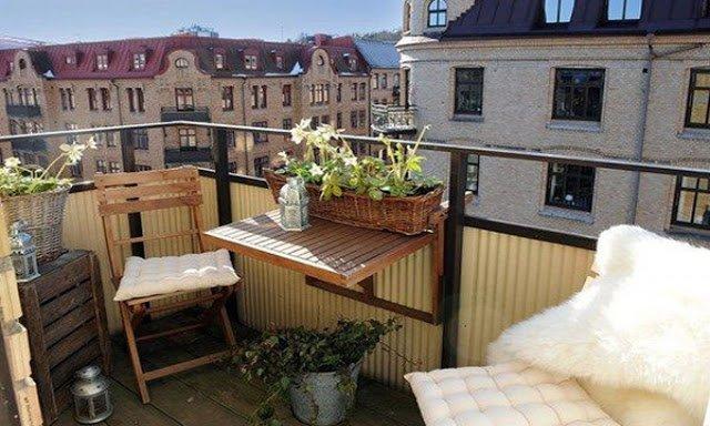 Уютный балкон. Коллекция фото-идей для вашей квартирки