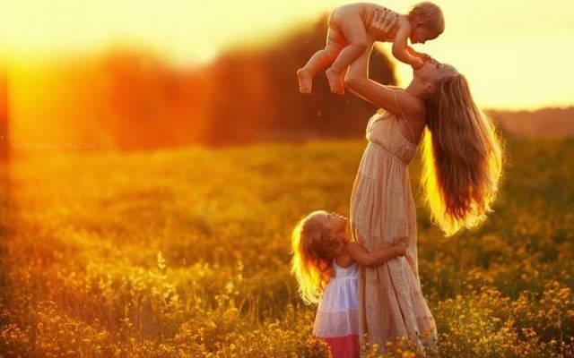Мамочкино счастье. Стихи о мамах и малышах