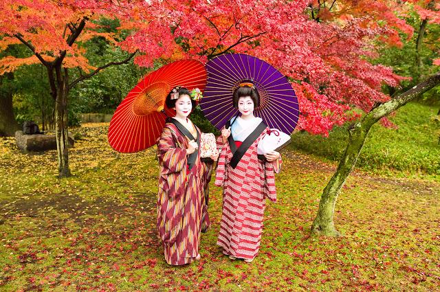Что под кимоно у гейши?