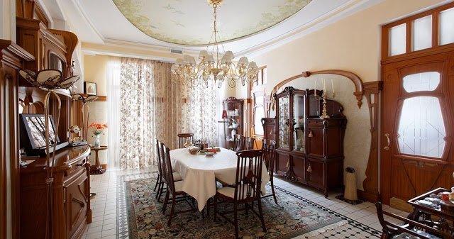 Кратко о классических стилях в интерьере