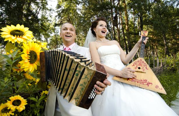 Веселые свадебные переделки популярных песен