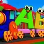 Алфавиты с транспортом (латиница и кириллица) для веб-дизайна