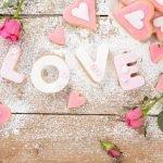 Алфавиты с сердечками (латиница и кириллица) для веб-дизайна
