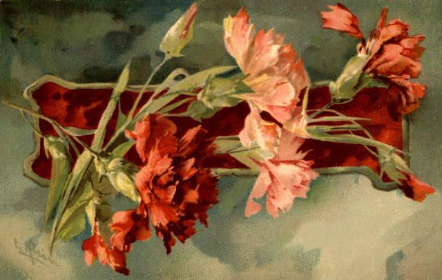 Катарина Кляйн (Catharina Klein, 1861 — 1929) — Главная «Цветочница» Германии. Цветы