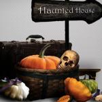 Разделители для текста и клипарт на Хэллоуин