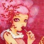 Тараканы на розовом