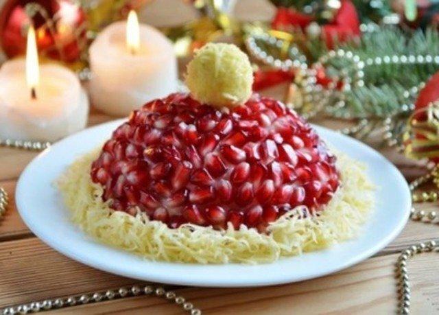 Изумительные салаты и закуски к Новому году и Рождеству. Рецепты и идеи оформления (часть 2)