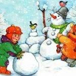 Зимние детские загадки для веселых игр, праздников и сценариев — часть 3