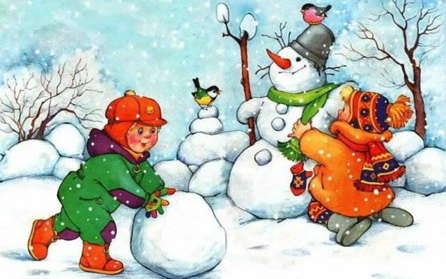 Зимние загадки для детей: о зиме и зимних праздниках (часть 3)