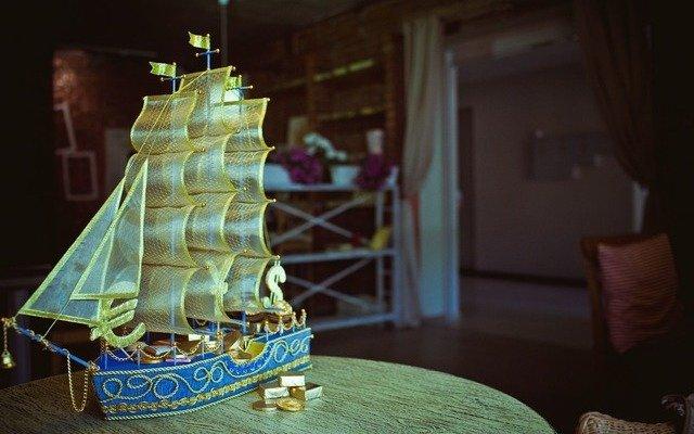 Как сделать корабль из конфет своими руками — МК и идеи