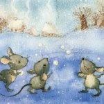 На дворе белым-бело! — детские стихи про зиму (часть 2)