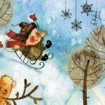 На дворе белым-бело! — детские стихи про зиму (часть 3)