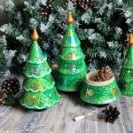 Мастерим новогодние ёлочки! - коллекция интересных идей и мастер-классов