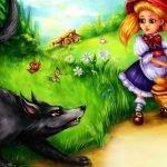 Красная Шапочка - большая коллекция иллюстраций