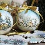 Праздничный декор своими руками: мастерим новогодние шары и игрушки (МК и идеи)