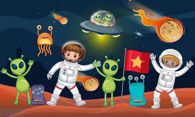 Развлекательные и познавательные сценарии на День Космонавтики для детей